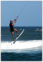 Kite Surfing - Nobby's Beach, Newcastle